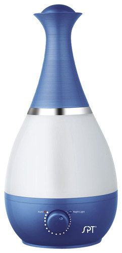 SPT - Ultrasonic 0.6 Gal. Cool Mist Humidifier - Royal Blue
