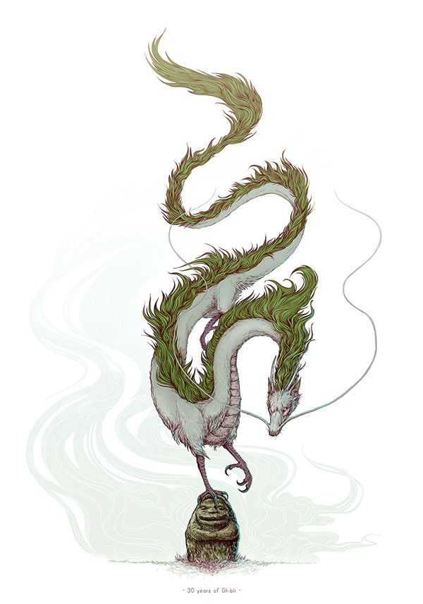 Dragon Haku, Spirited Away