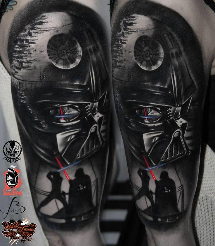 """NEW TATTOO :) STAR WARS <3 Marek """"Maras"""" Rydzewski @ Old Sailor Tattoo Warszawa"""