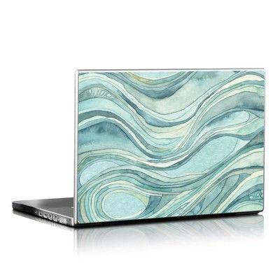 Laptop Skin - Waves Design by Shell Rummel for Decal Girl