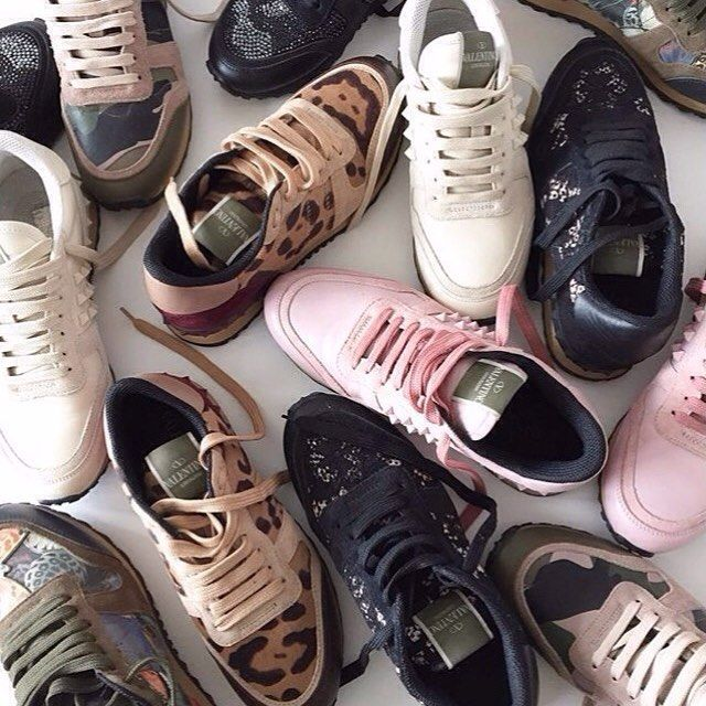 @myviewofstyle  @talkshoes Valentino Sneakers