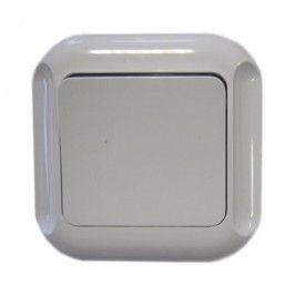 Łącznik schodowy pojedynczy Abex Topaz biały