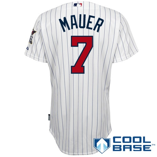 See more. from shop.mlb.com · Minnesota Twins Authentic Joe Mauer Home Cool  Base Jersey