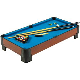 Hathaway Sharp Shooter Indoor Tabletop Pool Table Bg1012t