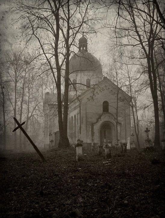 In the fog.... by Haszczu