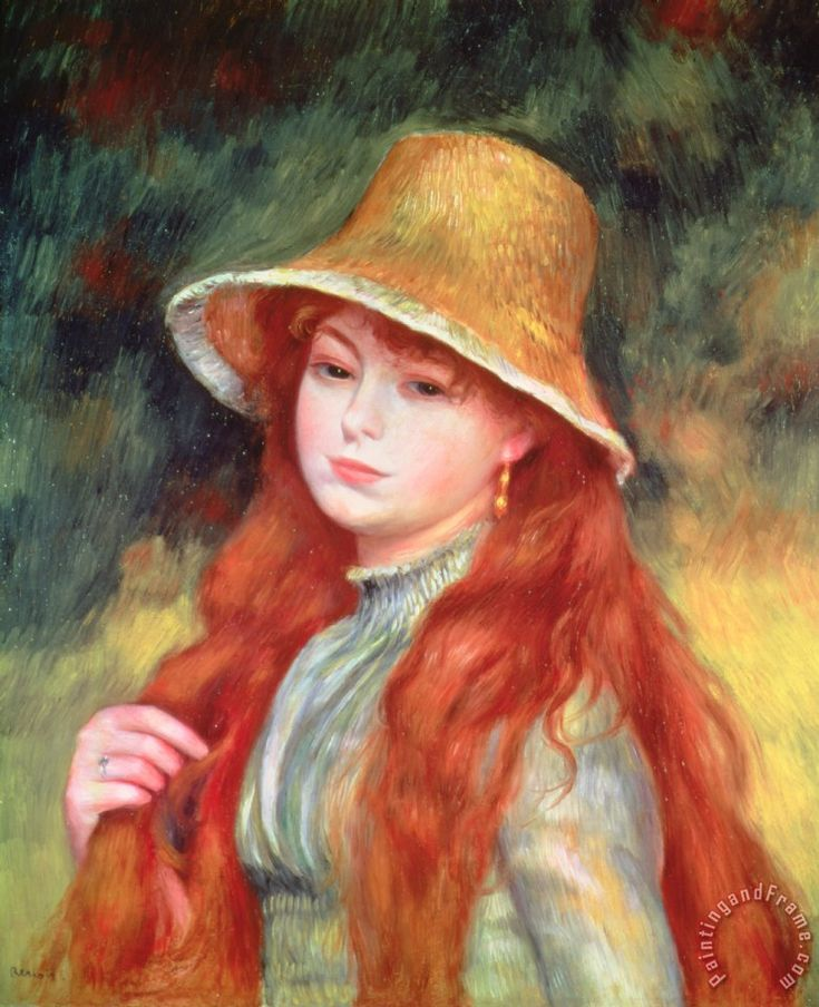 Pierre renoir redhead google search art pinterest for Auguste renoir