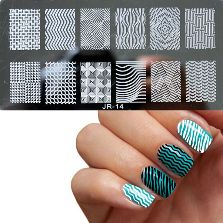 JR Nail Stamp Stainless Steel Image Template Plates // Price: $7.74 include FREE Worldwide Shipping //     #nailart #manicure #nailsticker #nailtreatment #nailstamp #nailtool #naildryer #nailgel #nailremover #stilettonail #nailbeauty