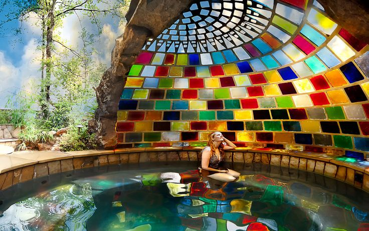 Backyard Spa, Rainbow Spa I so want one of these! Weather here probably better suited to a pond though :-(