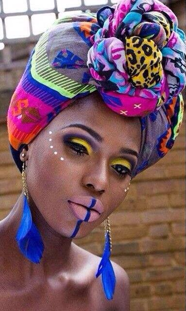 I really loved this african scarf, it shows a traditional culture that is beautiful and can be spread globally
