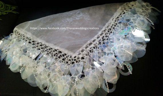 bride yalekhta scarf all shimmer glass by yalekhtaandkopala