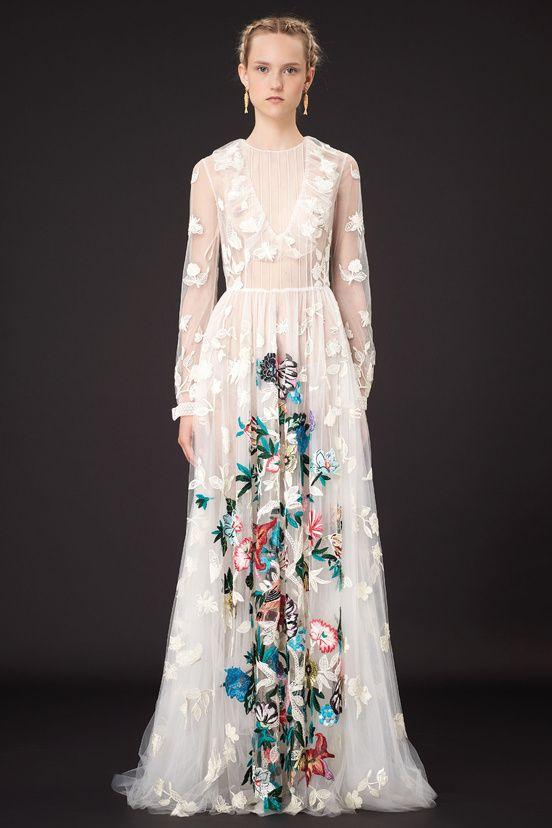 Eclectic vintage wedding dress - Valentino