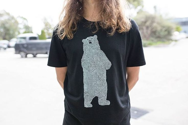 """77 Likes, 2 Comments - ETIKO (@etiko_fairtrade) on Instagram: """"Our Bear tee is back in stock across all sizes! Shop the link in our bio for our range of…"""""""