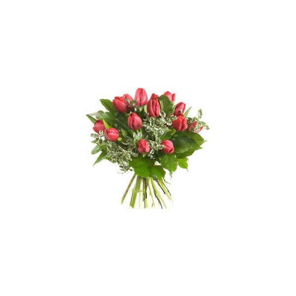 Faxiflora - Consegna Bouquet A Domicilio - Bouquet Di Tulipani Rossi ❤ liked on Polyvore featuring home, home decor, floral decor, flowers, fillers, fiori, flower stems, flower bouquets and flower home decor