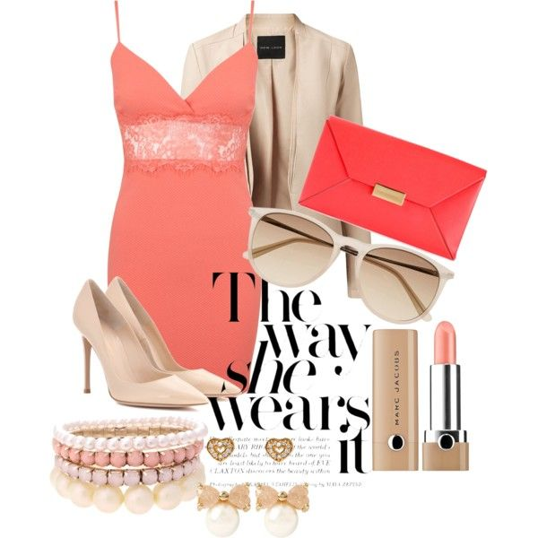 the way she wears it by joan-w on Polyvore featuring Miss Selfridge, Gianvito Rossi, STELLA McCARTNEY, Lipsy, Betsey Johnson, Witchery and Marc Jacobs