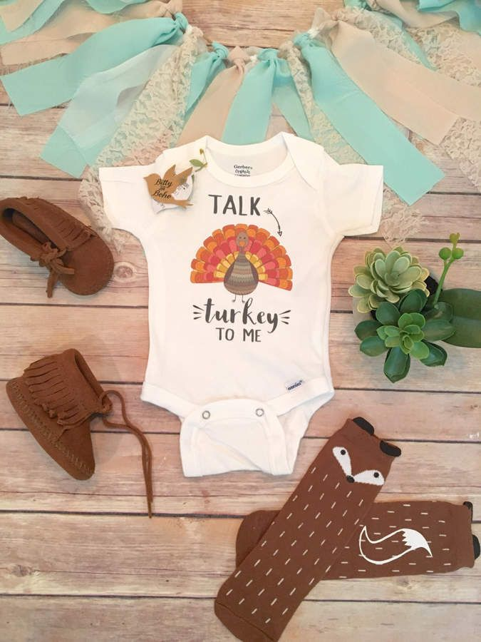 Etsy Thanksgiving Onesie®, Thanksgiving Baby Outfit, Turkey Onesie, Turkey Baby Bodysuit, Baby Boy Clothe #ad