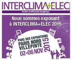 #Salon Interclima+Elec à Paris du 2 au 6 novembre 2015. Le salon de référence en matière d'efficacité énergétique et d'énergies renouvelables dans le secteur de la construction et du bâtiment.  http://www.batilogis.fr/agenda/salon-france-2015-1.html