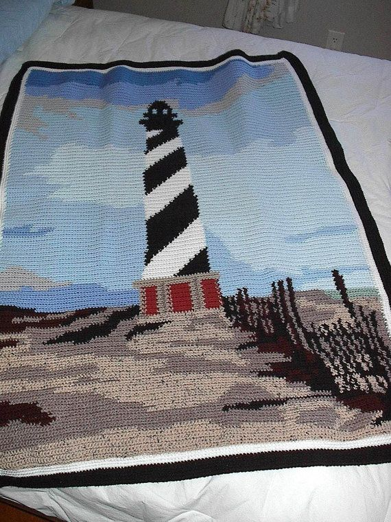 Crocheted Afghan Pattern Original Design Cape Hatteras