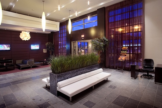 Green is good. Sandman Hotel & Suites Winnipeg Airport