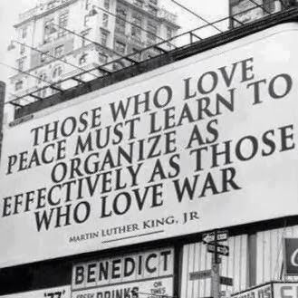 Those who love peace must learn to organize as effectively as those who love war MLK Jr / Heart Beacon Cycle is a procedural template adapted from the military's system of system Net Centric Warfare = swords to plowshares