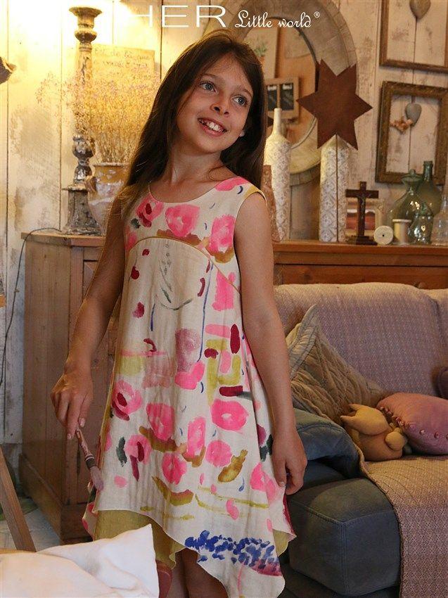 HER Little world, Patron de couture pour vêtement enfant, robe Acidulée