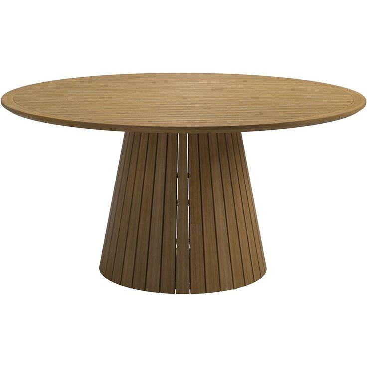 large round teak outdoor dining table furniture toronto