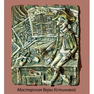 """Керамическая картина """"Щелкунчик"""""""