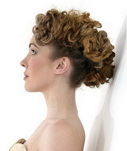 Short Hairstyles For Curly Hair: Different Curly Short Hairstyles ~ hsloft.com Curly Hairstyles Inspiration