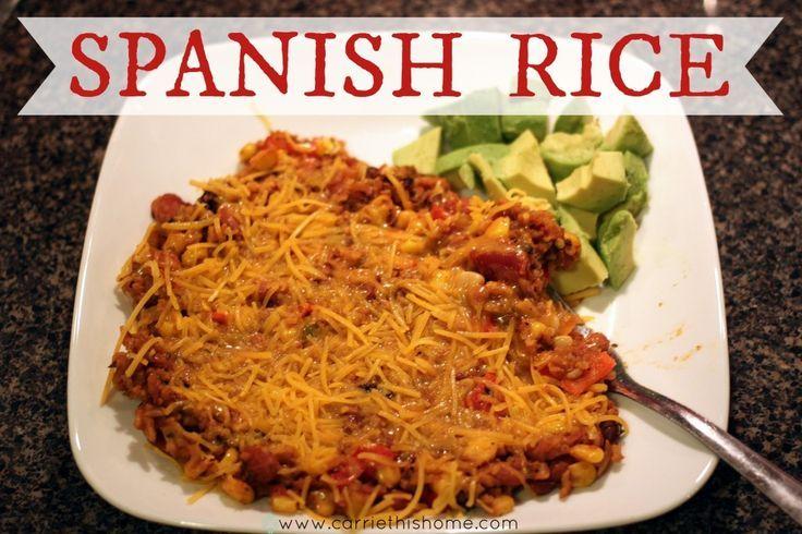 Easy recipe for Spanish Rice