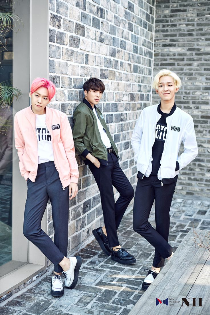 WINNER Jinwoo, Seungyoon, Taehyun - NII Summer 2016 Collection