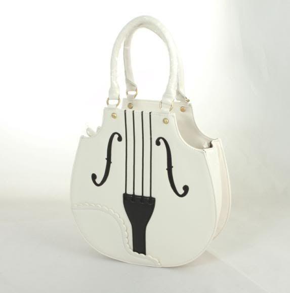 Violin Handbag - so cute!  I want it :)   $33.95