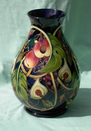 106 Best Moorcroft Pottery Images On Pinterest Pottery Vases And Porcelain