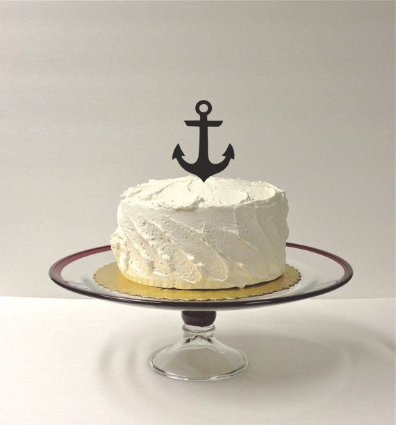 nautical cake toppers for wedding cakes 1000 ideas about anchor wedding decorations on 17728
