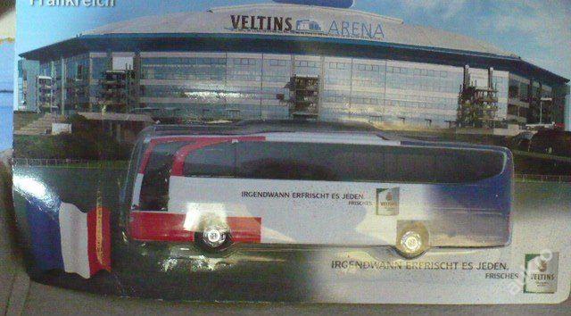 Pivní autobus MERCEDES, pivo VELTINS, fotbal (6274245978) - Aukro - největší obchodní portál