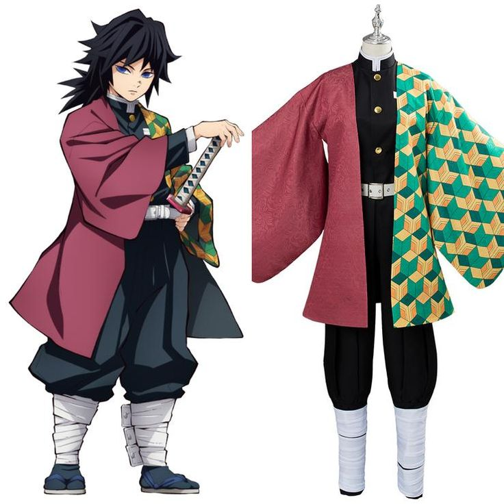 Demon slayer kimetsu no yaiba tomioka giyuu cosplay