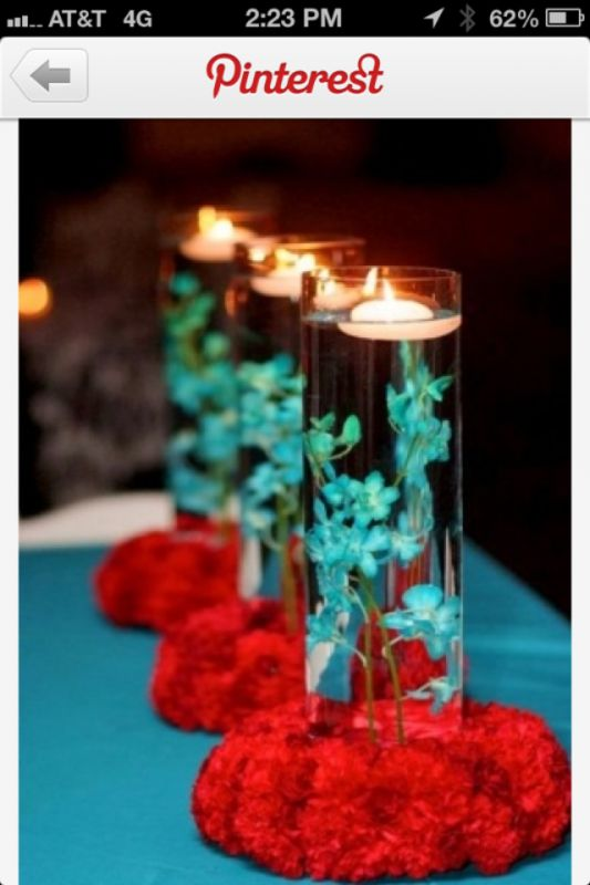 wedding tablescapes coral and tiffany blue - Google Search