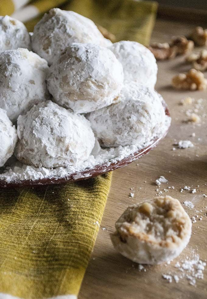 Must Make Walnut Snowball Cookies Or Mexican Wedding Cake Cookies Are The Best Recipe Snowball Cookies Wedding Cake Cookies Mexican Wedding Cake Cookies