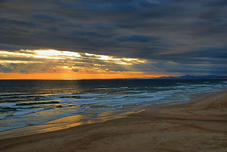 A sunset taken from Maitlands river mouth near Port Elizabeth.