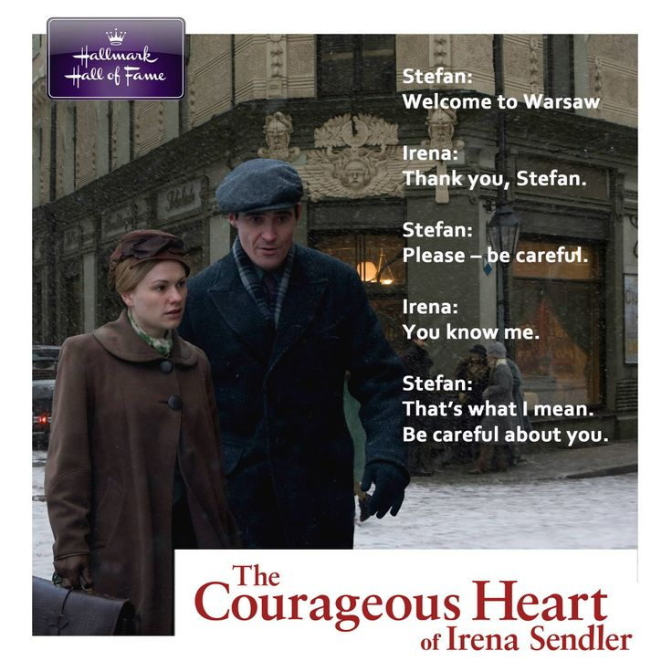 "the courageous heart of irena sendler essay ""the courageous heart of irena sendler"" is a movie based on the life of a woman who risked her life for others irena saved 2,500 children from being sent to concentration camps the actions of irena sendler are based in poland during world war ll in the 1940's."
