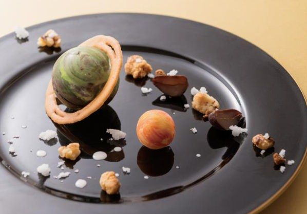 Chocolate, Marron and Tuile - galaxy sweets
