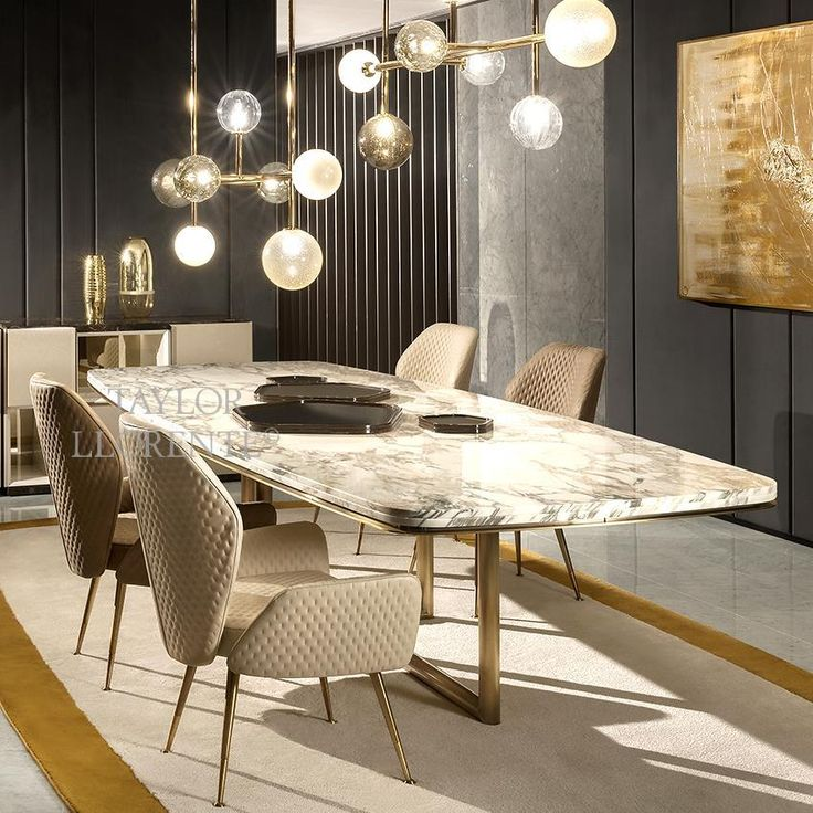 MARBLE DINING TABLE – High End Designer Tables | T…