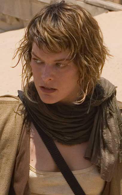 Milla Jovovich Resident Evil Hairstyle | Milla Jovovich foto Resident Evil 3: Extinción, imagen, fotografía ...