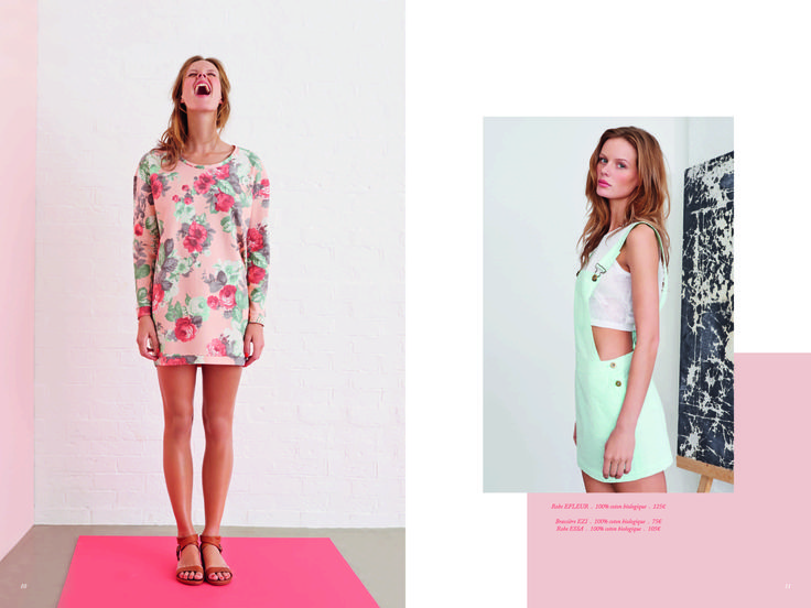Page 6 - Look Book PE14 EKYOG #modepositive #green #spring #summer #collection2014
