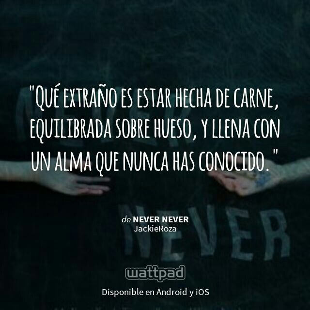 """""""Never never"""". Colleen Hoover."""