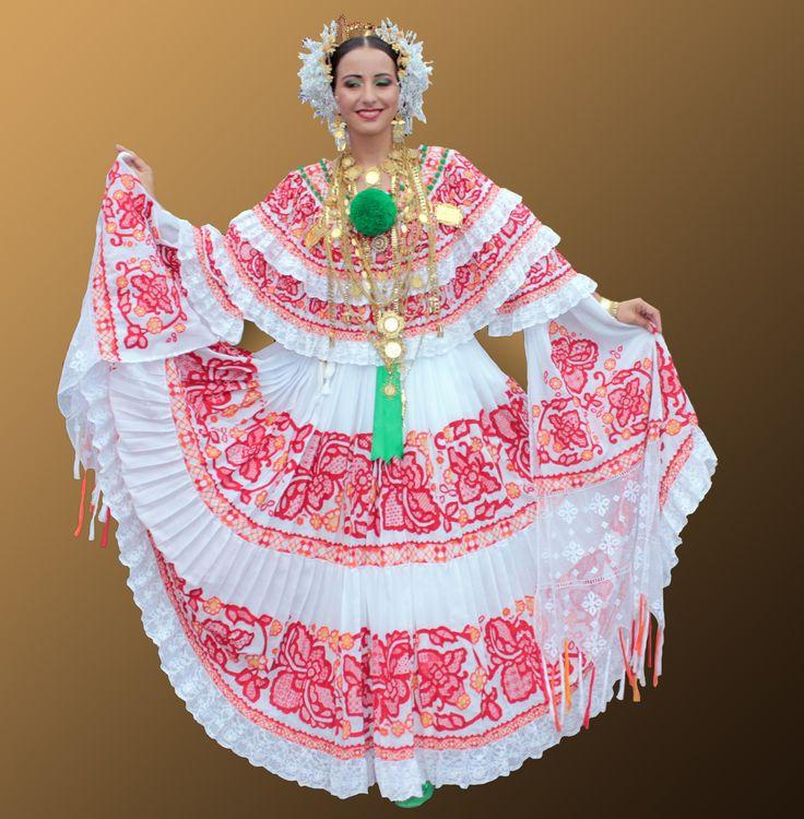 Pollera, Panama   Panama Culture   Panama, Traditional ...