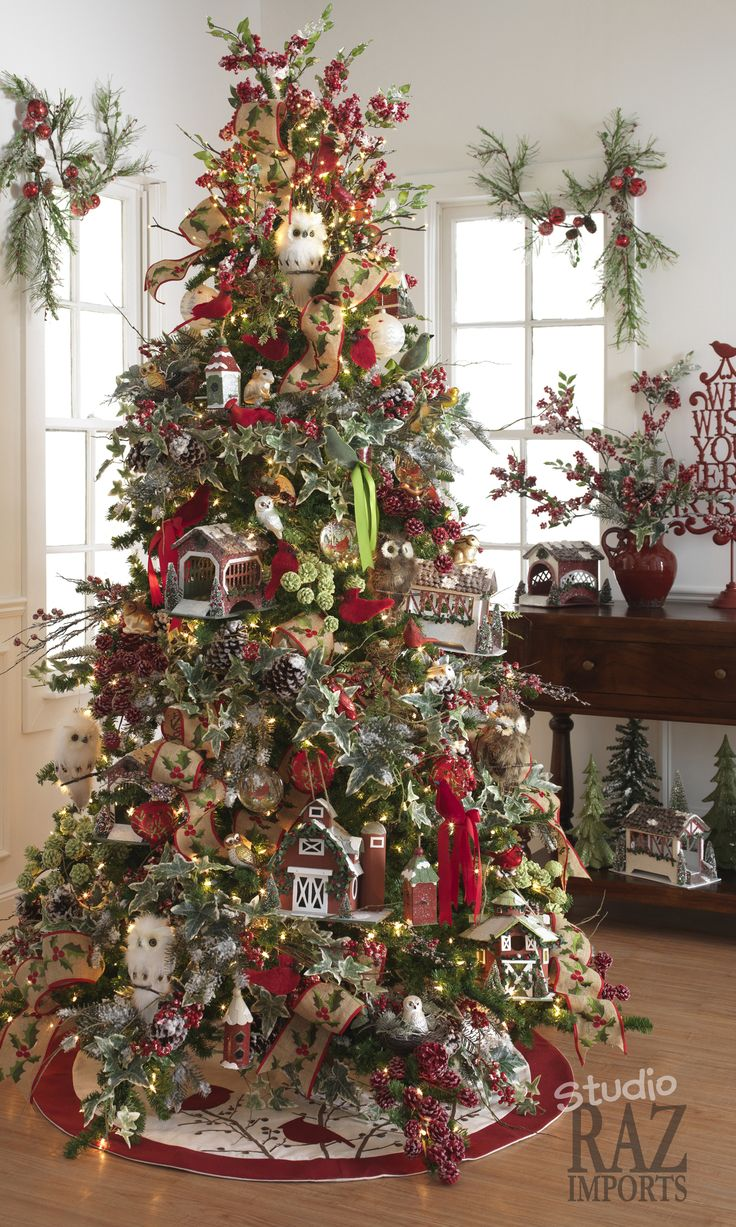 Country christmas decorations 2014 -  Loaded With Holiday Decor Ideas 2014 Raz Christmas Decorating Ideas