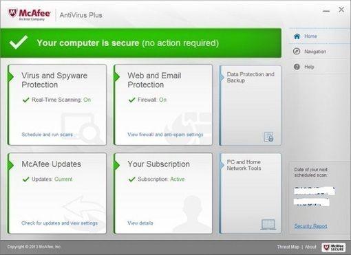 McAfee AntiVirus Plus 2014 1 Year FREE License key | Freakinthecage Webdesign Stuttgart - Der Blog