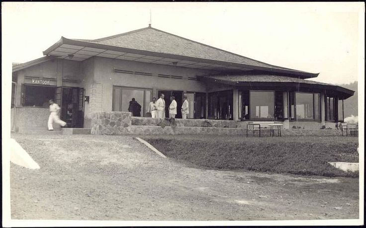 indonesia, JAVA BANDOENG, Hotel Tangkoebam Prahoe (1930s) RPPC nl.picclick.com