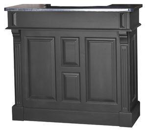 La gamme de meubles bars Chester est déclinée de 90cm de large à 360cm. Ce petit meuble bar fait 120cm de large. Equipé d'un plateau zinc ou pin, au choix ! Livraison offerte.