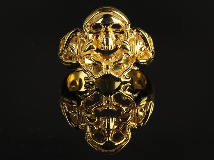 Snake Skull Ring is about to connect you with the natural magic power within yourself.#snakering #Aztec #skullring#skull #jewelry#Goldring#dragonring