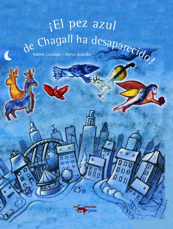¿Qué ocurriría si de repente fuéramos a un museo y nos encontráramos con que todos los animales de los cuadros han desaparecido? Este es el punto de partida de este interesante álbum ilustrado de la editorial Machado Libros que pretende dar a conocer la obra de Marc Chagall entre los más pequeños, al mismo tiempo que fomenta el respeto al arte. (Fuente: Cuento a la vista)